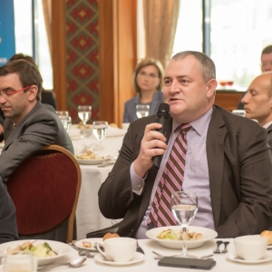 Business Lunch With The Governor Of The National Bank Of RK 24