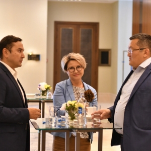 EUROBAK Meeting With Minister Of Healthcare 5