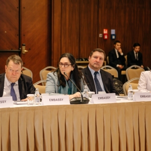 Round Table With Marat Beketayev, Minister Of Justice of RK 30