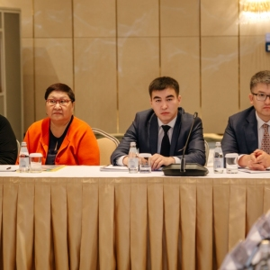 Round Table With Marat Beketayev, Minister Of Justice of RK 16