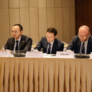 Round Table With Marat Beketayev, Minister Of Justice of RK 13