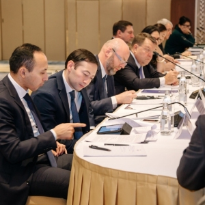 Round Table With Marat Beketayev, Minister Of Justice of RK 31