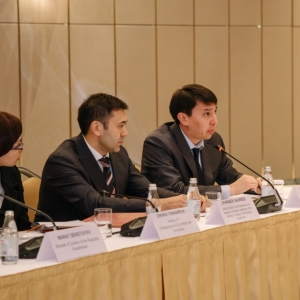 Round Table With Marat Beketayev, Minister Of Justice of RK 15