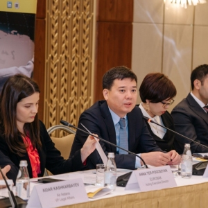Round Table With Marat Beketayev, Minister Of Justice of RK 26