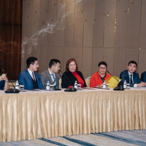Round Table With Marat Beketayev, Minister Of Justice of RK 10
