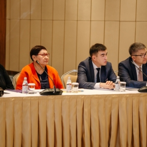 Round Table With Marat Beketayev, Minister Of Justice of RK 23