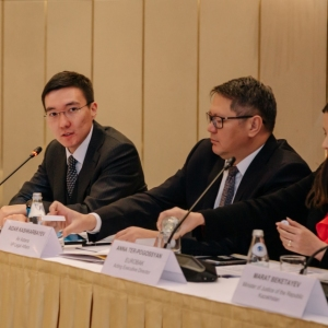 Round Table With Marat Beketayev, Minister Of Justice of RK 14