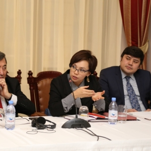 Round Table With Gulzhana Karagussova 25