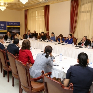 Round Table With Gulzhana Karagussova 24