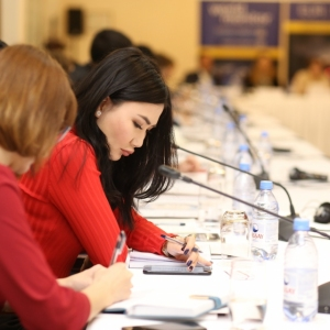 Round Table With Gulzhana Karagussova 20