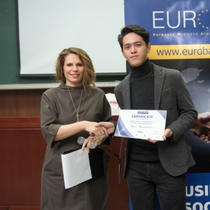 Awarding Of Students of EUROBAK HR And Marketing & PR Universities  21