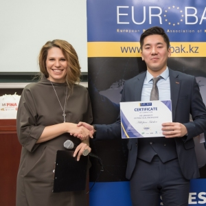 Awarding Of Students of EUROBAK HR And Marketing & PR Universities  8
