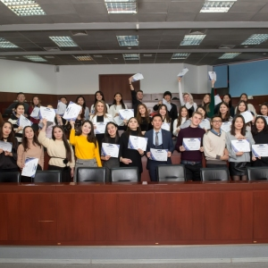Awarding Of Students of EUROBAK HR And Marketing & PR Universities
