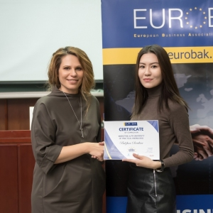 Awarding Of Students of EUROBAK HR And Marketing & PR Universities  14