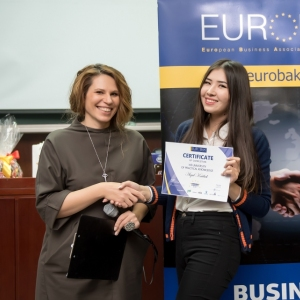 Awarding Of Students of EUROBAK HR And Marketing & PR Universities  9