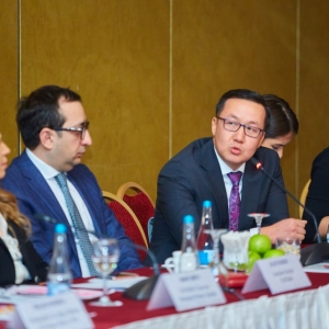 Round table with Ministry of foreign affairs and Akimat of Almaty 30