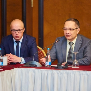 Round table with Ministry of foreign affairs and Akimat of Almaty 31