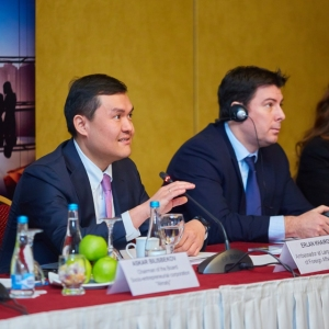 Round table with Ministry of foreign affairs and Akimat of Almaty 12
