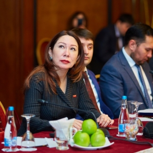 Round table with Ministry of foreign affairs and Akimat of Almaty 19