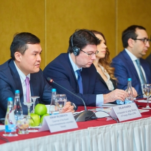 Round table with Ministry of foreign affairs and Akimat of Almaty 26