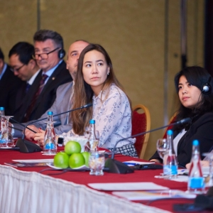 Round table with Ministry of foreign affairs and Akimat of Almaty 23